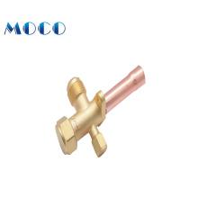 Air conditioner refrigeration valve/ac service split valve/brass fitting