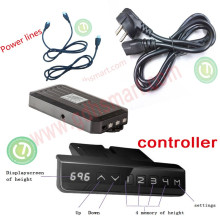 Height adjustable lifting customized Sit Stand Desks system