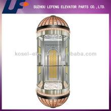 Three Sides Glass Sightseeing Elevators/Lifts