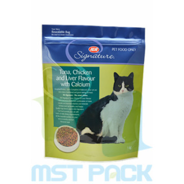 Cat Food Packaging Bag Med Custom Zipper