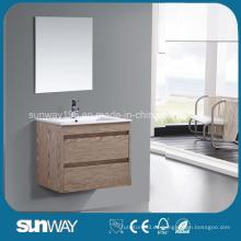 2016 Gabinete de baño caliente de la melamina de la venta con el espejo