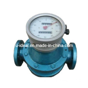 Pd Flow Meter for Hfo Flow Measurment in Boilers Resettable Totalizer Mechanical, and Flow Dial, Local Indicator and Totalizer -Oval Gear Flow Meter-Diesel Flo