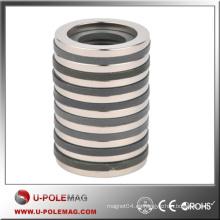 Anillo de imán de forma personalizada NdFeB N35 / D50xID20x10mm Imanes de anillo / Imanes permanentes Axial