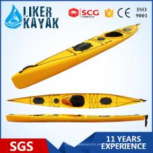 Kayaks de calidad superior del solo asiento PE con servicio del OEM