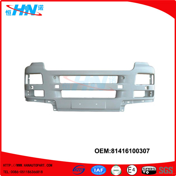 White Front Bumper 81416100307 TGA Truck Body Parts