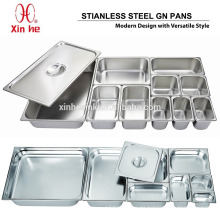 Acero inoxidable Gastronorm Pan GN Pan
