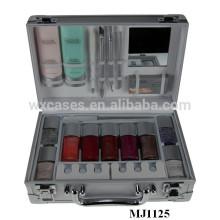 alta calidad aluminio empaquetado cosmético cajas MJ1125