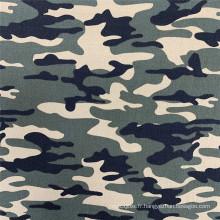 Tissu uniforme militaire NR Bengaline Népal imprimé camouflage