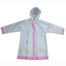 Girl's Plastic Raincoat