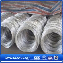 Alambre galvanizado sumergido caliente del bajo carbono del alta calidad 1- 3m m