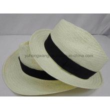 Chapeau de paille pour hommes de promotion, casquette de baseball de sports d'été