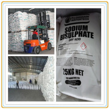 Granule/Powder Sodium Bisulfite Anhydrous Chemical (pH- Decreaser NaHSO4)