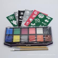 Kit de maquillage pour le visage maquillage Halloween sans paraben pour les enfants