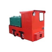 Locomotiva da bateria elétrica da mineração subterrânea de 2,5 toneladas