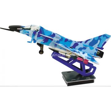 3D J-10 Airplane Puzzle