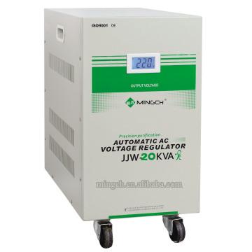 Custom Jjw-20k Single Phase Series Precise Purified Voltage Regulator / Stabilizer