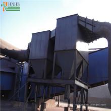 Collecteur de poussière industriel de cyclone pour l'enlèvement de poussière fibreux