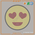 Smiling Face With Heart Eyes rhinestones appliques