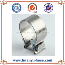 Accuseal Hot Sale Stainless Steel Exhaust Narrow Band Clamp