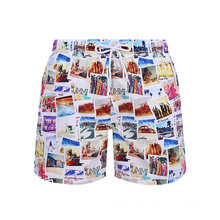 Quick Dry Printed Swim Trunks Beach Wear Shorts