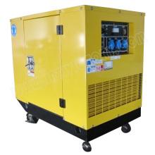 10.5kw kleiner beweglicher schallisolierter Benzingenerator mit CER / CIQ / ISO / Soncap