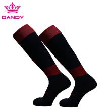 Custom Logo Cotton Soccer Sports Socks