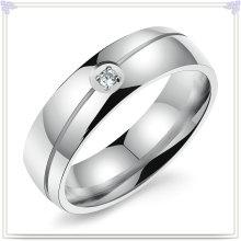 Jóia de cristal anel de dedo da jóia do aço inoxidável (SR238)