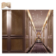 recyclable scenery living room 3d vinyl woven wallpaper for sale