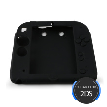 Black Silicone Jacket for Nintendo 2DS