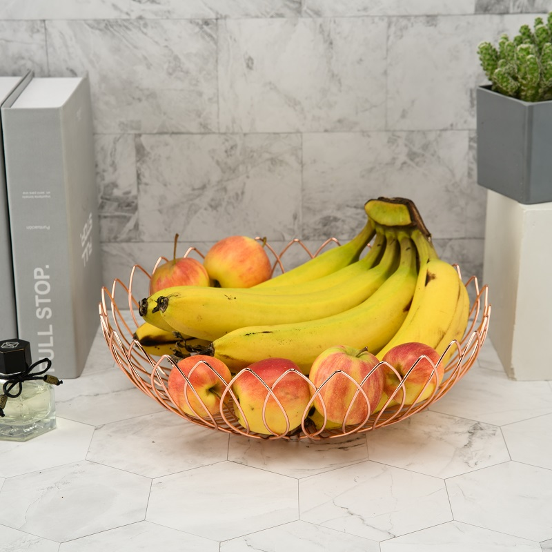 Hollow Stainless Steel Fruit Basket
