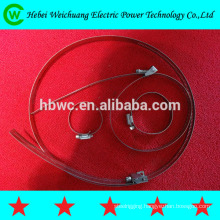 stainless steel band,electric power fitting
