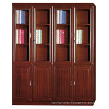 office furniture china modular wooden glass office file cabinet
