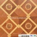 Grade AB Indoor bed parquet floor Multi layer solid parquet flooring