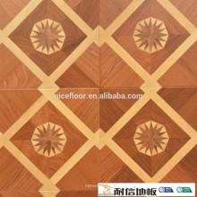 Grade AB Indoor-Bett-Parkettboden Mehrschichtiger Parkettboden