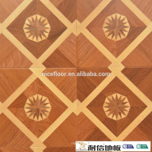 Grade AB Indoor bed parquet floor Multi layer solid parquet flooring