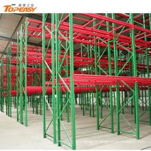 entrepôt de stockage robuste réglable en hauteur europe palettier