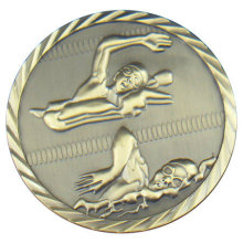 Atacado Medalha evento esportivo personalizado com Antique Brass Plating