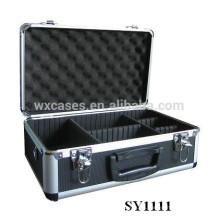 caja de aluminio portátil para cámara con compartimentos ajustables interior fabricante