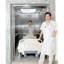 Escalade haute vitesse Ascenseur avec cheveux en acier inoxydable