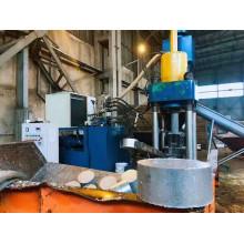 Máquina de briquetas de material de aluminio con certificado CE