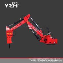 Stationary Type Hydraulic Manipulators Boom System