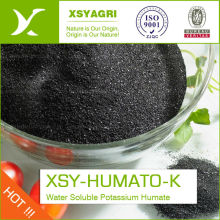 organic Potassium humate fertilizer 100% water solubility