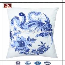 Простой холст Жаккард Красивые подушки для цветов подушки подушки