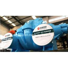 Pompe centrifuge lente de double étage et double aspiration