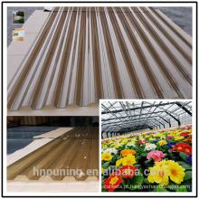 folha de telha de papelão ondulado