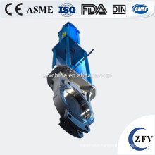 Factory Price Pneumatic Knife Gate Valve, knife gate valve with pneumatic actuator rising stem gate valve