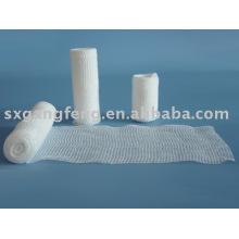 Bandages élastiques tricotés / Bandages de gaze