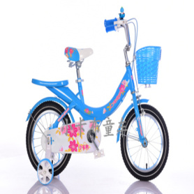 2017 good quality yellow 14 inch children bike