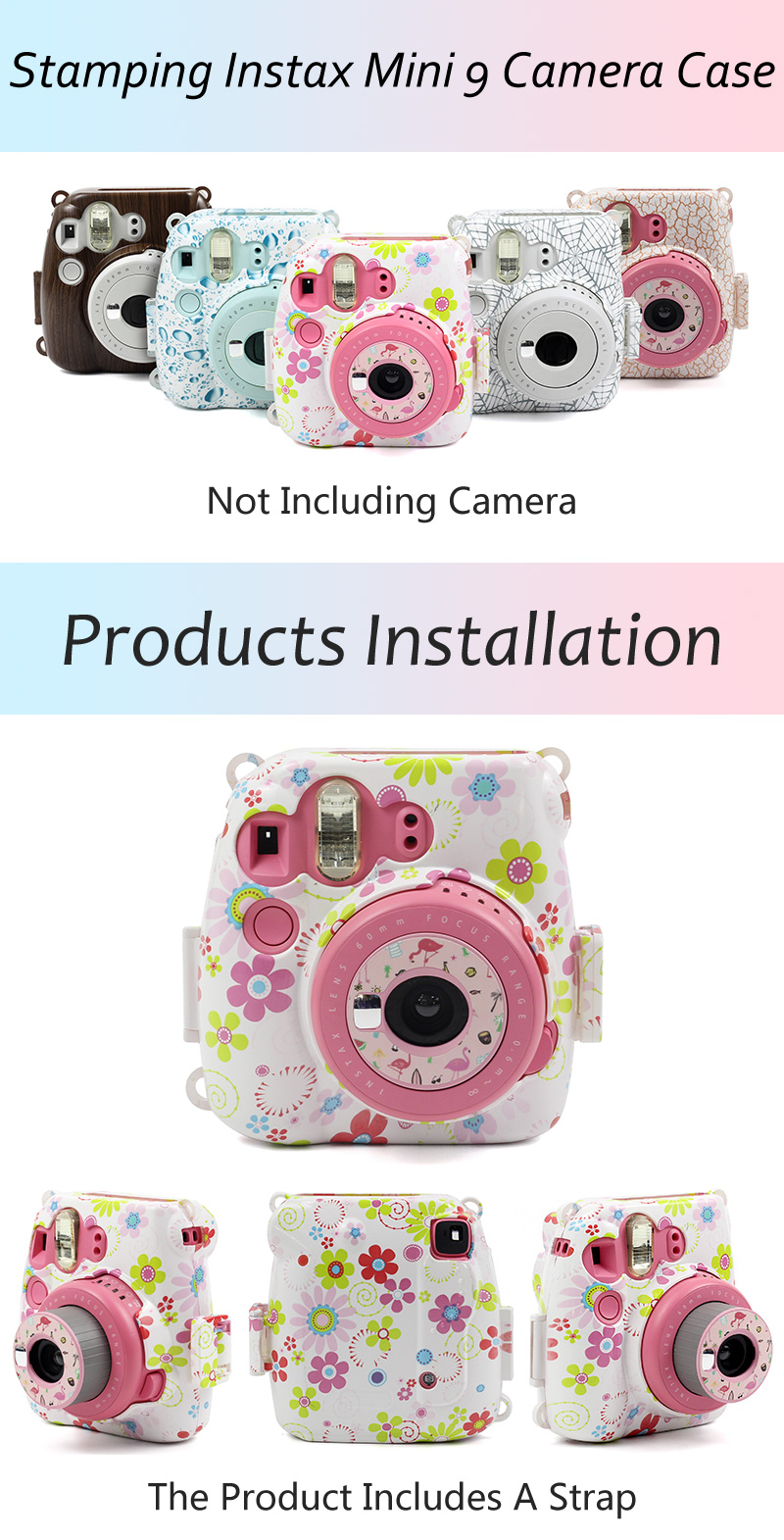 Instax Mini 9 Printing Case