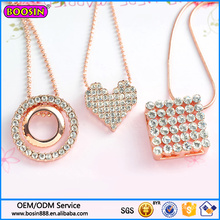 Guangzhou Boosin Bijoux De Mode De Mariage Diamant Pendentif Collier 2016